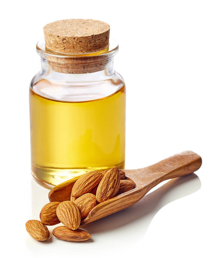 almond oil hair mask